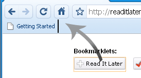 bookmarklet chrome