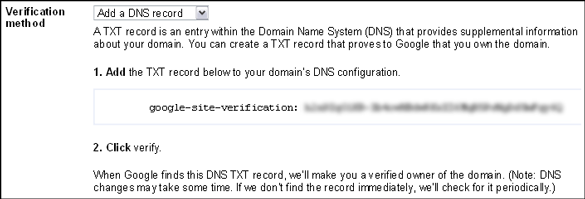 google-webmaster-tools-dns-record-verify