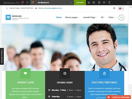Joomla business templates june 2014 joomlaart flashek Images