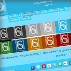 Joomla business templates, March 2012